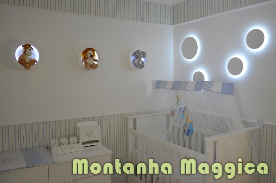 5 ideias incríveis para luminária de quarto de bebê