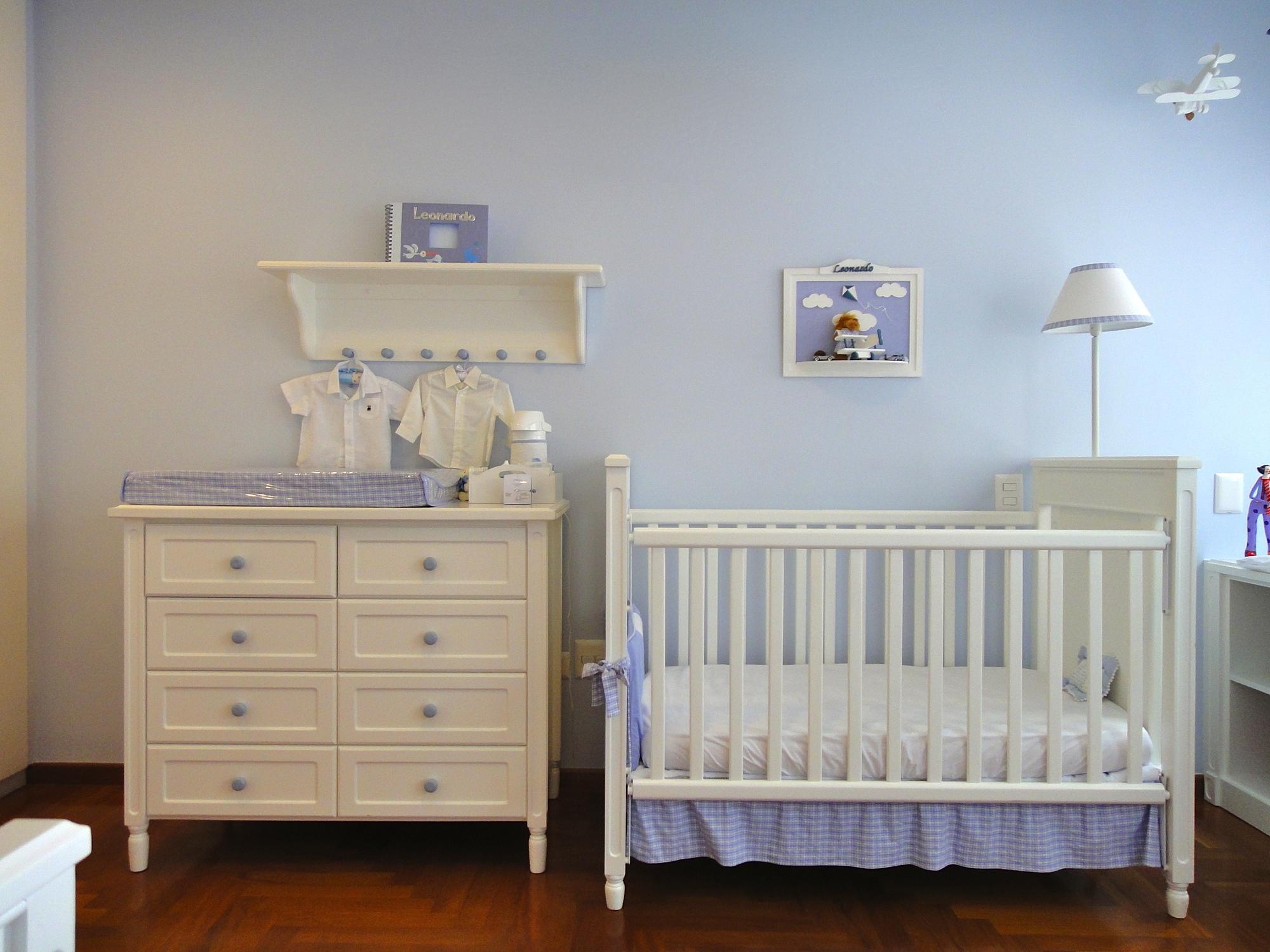 Como escolher os móveis do quarto de bebê
