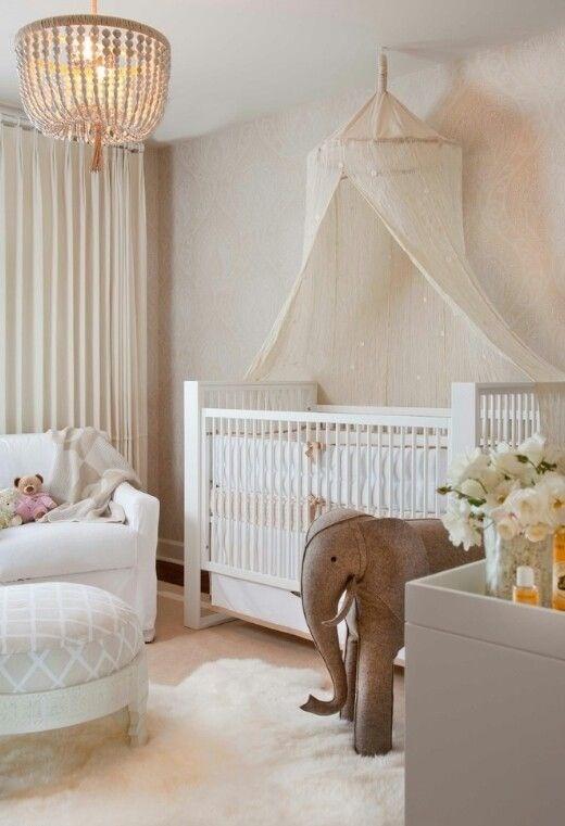 quarto de menina elefante