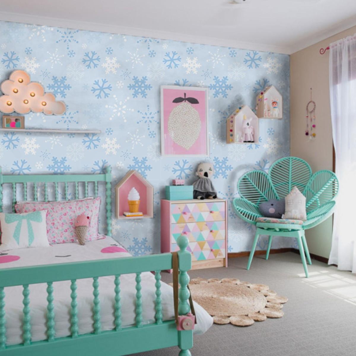 Tiffany Blue Bedroom Decor Fa 231 A Uma Decora 231 227 O De Quarto Infantil Especial Com O Tema