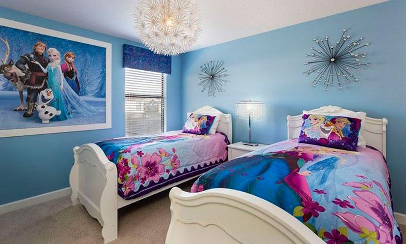 Faça uma decoração de quarto infantil especial com o tema Frozen