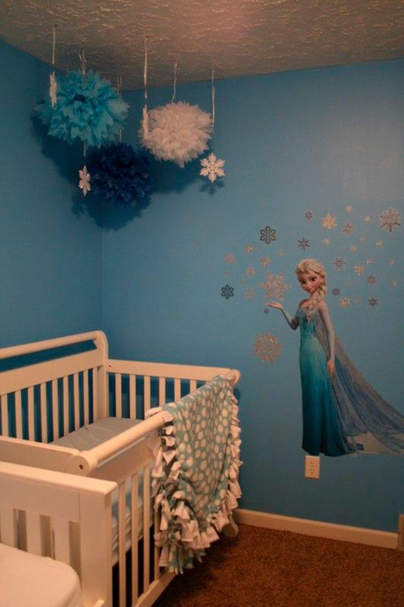 Fa a uma decora o de quarto infantil especial com o tema for Room design elsa