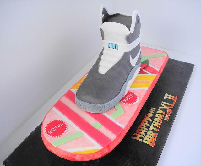 festa infantil de volta para o futuro bolo skate