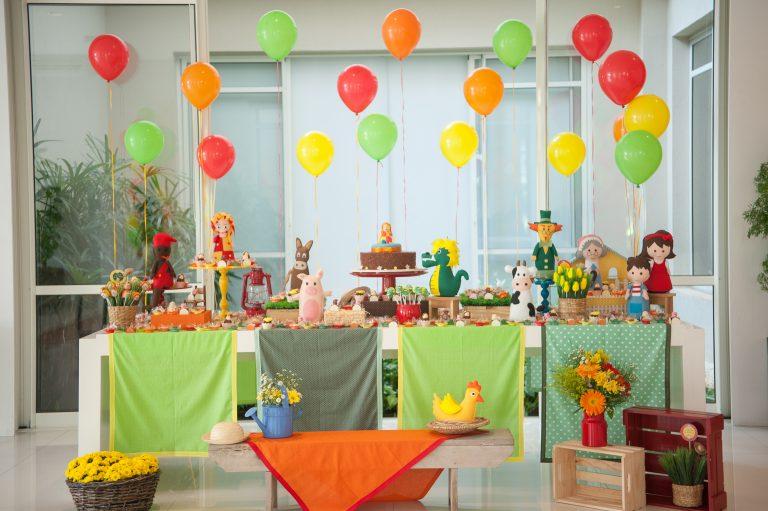 Festa Infantil: Pó de Pirlimpimpim do Sítio do Pica Pau Amarelo