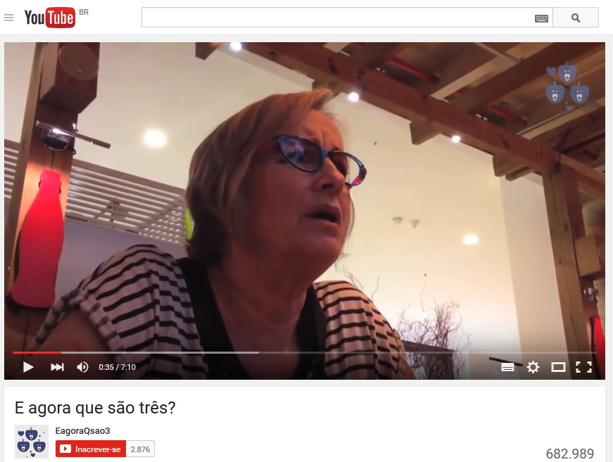 5 vídeos anunciando a gravidez
