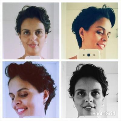 maternidade insana cabelo curto quatro