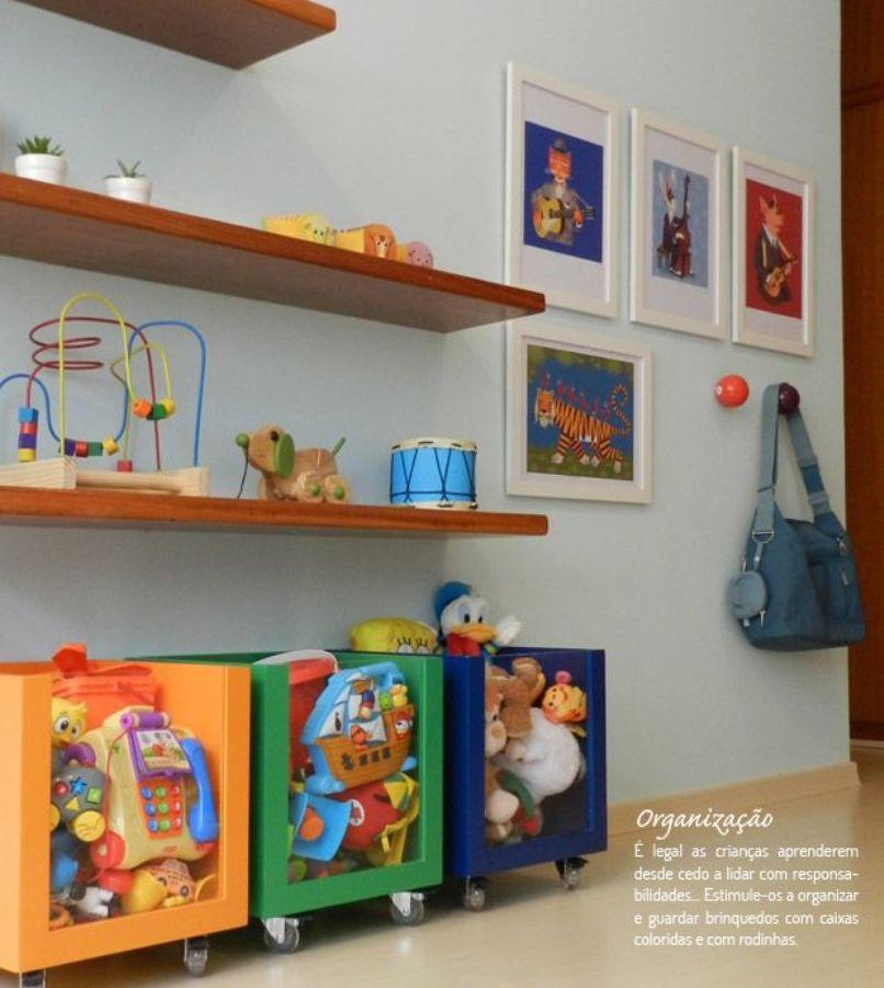 Organização dicas incríveis para um quarto infantil de menino ~ Quarto Montessoriano Para Irmaos