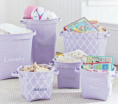 quarto infantil lilas organização