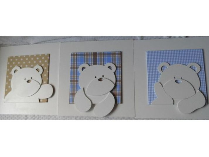Quadro De Urso Para Quarto De Bebe ~ 10 ideias de quadros para quarto infantil