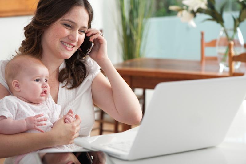 Dicas para organizar a rotina da mãe empreendedora