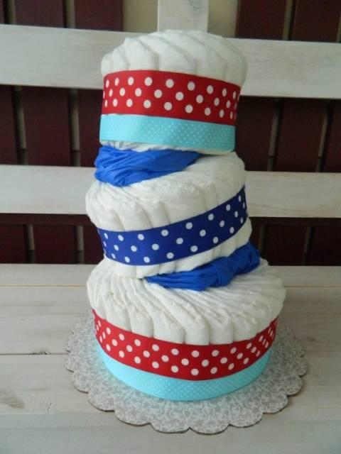 Diaper Cake Base Ideas