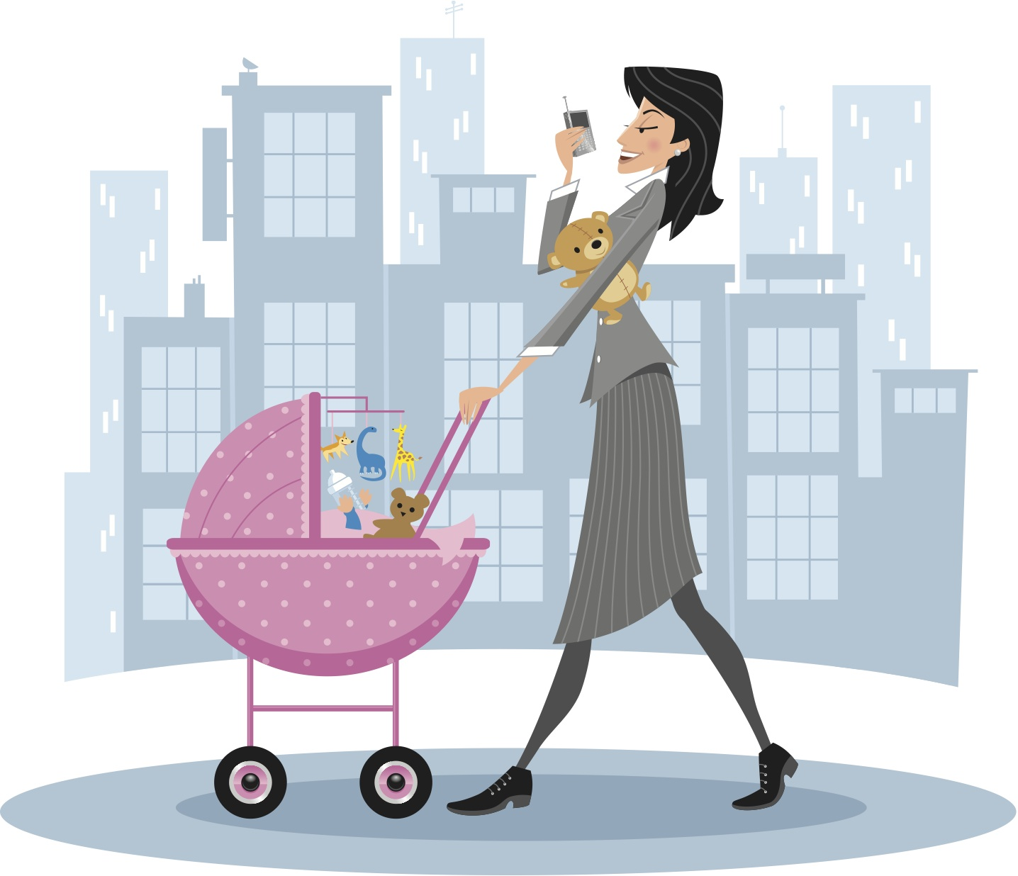 Resultado de imagem para maternidade desenho