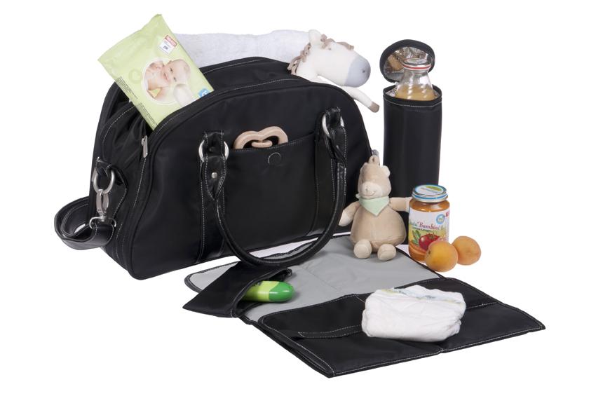 Bolsa Para Bebê Preta : Bolsa de passeio do beb? saiba o que n?o pode faltar