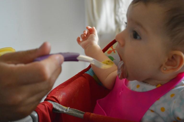 Introdução Alimentar Beatriz – Parte II – Papinhas Salgadas