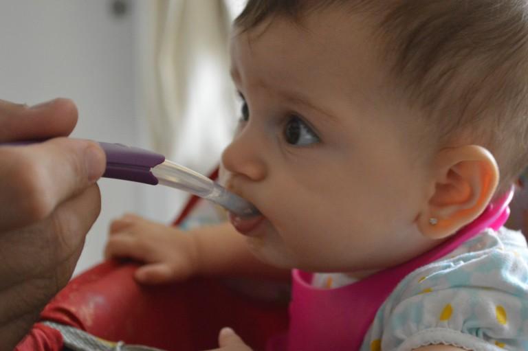 Introdução Alimentar da Beatriz – O começo