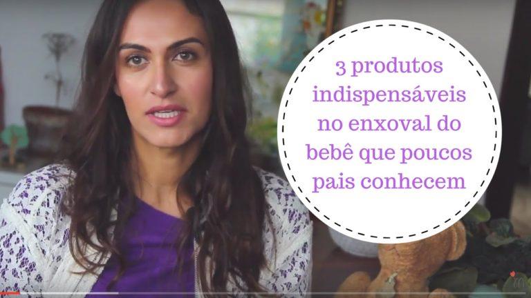 Vídeo: 3 produtos indispensáveis para o enxoval do bebê