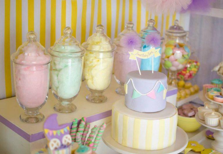 50 Lindas decorações para chá de bebê menina (Muita Inspiração!)