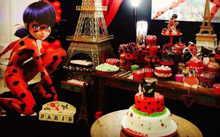 Festa Infantil Miraculous LadyBug – 15 decorações de arrasar
