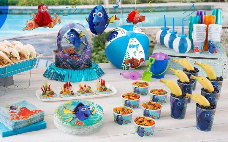 Festa Infantil Dory – Ideias para você se inspirar na decoração