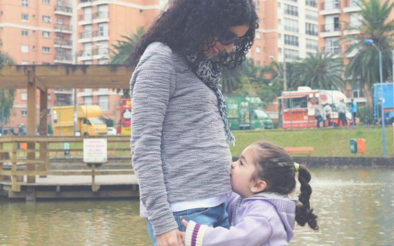 4º mês de gravidez, engordando e pessoas palpitando