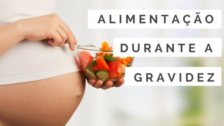 Vídeo – O que é importante na alimentação durante a gravidez?