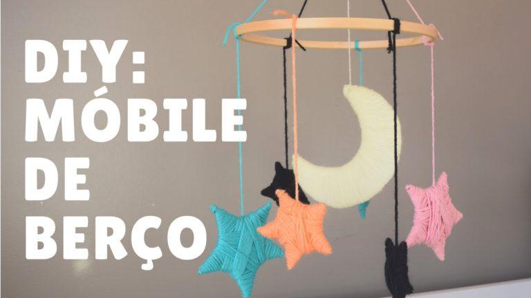 Vídeo: DIY – Veja como fazer um lindo móbile de berço