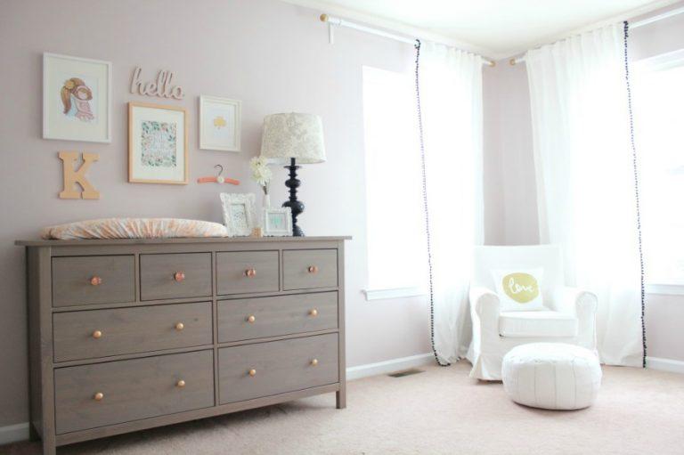 12 quartos de meninas LINDOS e CLEAN – para bebês e crianças