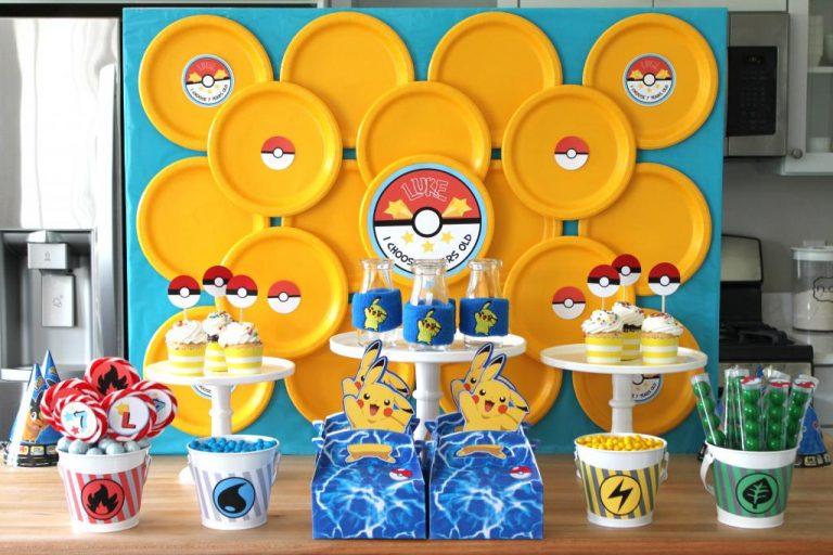 Festa infantil Pokémon – dicas simples para uma super festa
