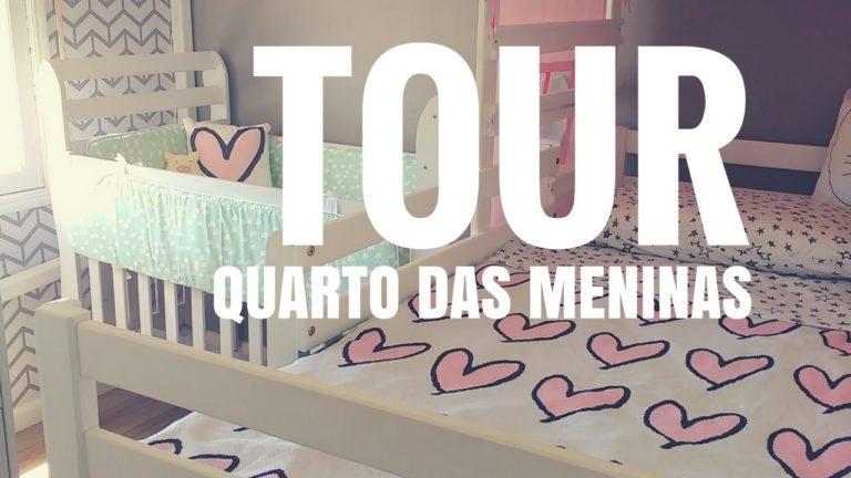 Vídeo: Tour – Quarto das meninas pronto! Finalmente!!