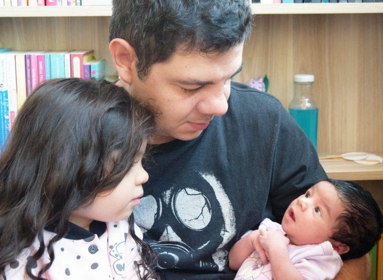 Pai também é gente! – Papo de pai com o pai de duas, Rafael Cirolini