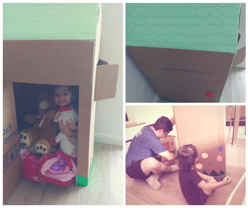 craft-com-crianca-casinha-de-papelao