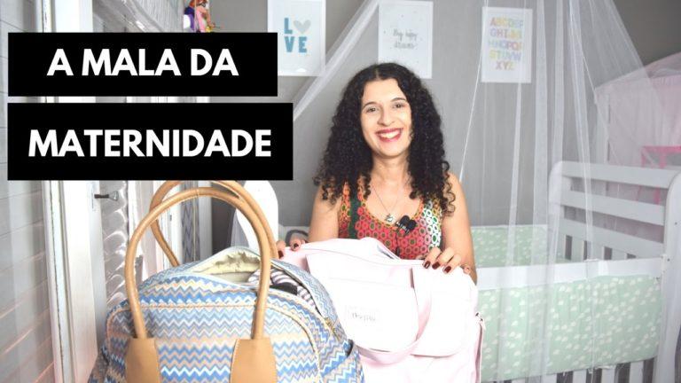 Minha mala da maternidade – o que precisa levar?