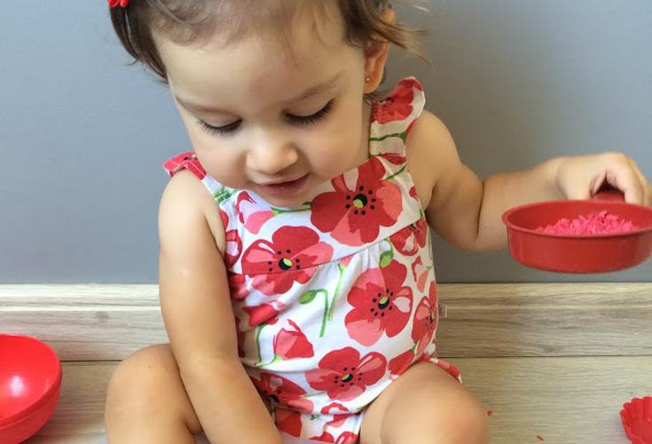 Atividades infantis: Brincando com as cores – Semana do VERMELHO