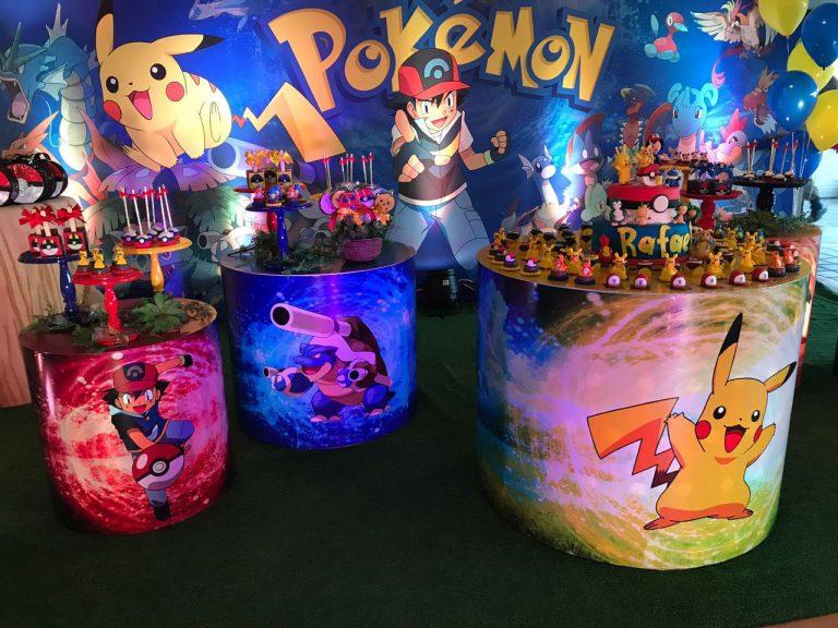 Festa Infantil com o tema Pokémon – Várias ideias para você se inspirar