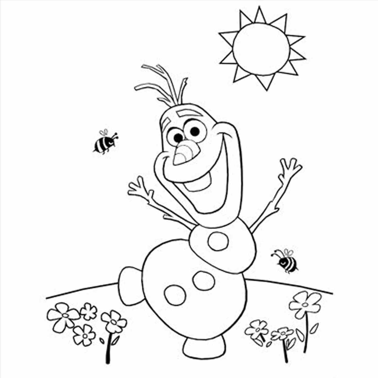 princess coloring pages frozen olaf - photo#16