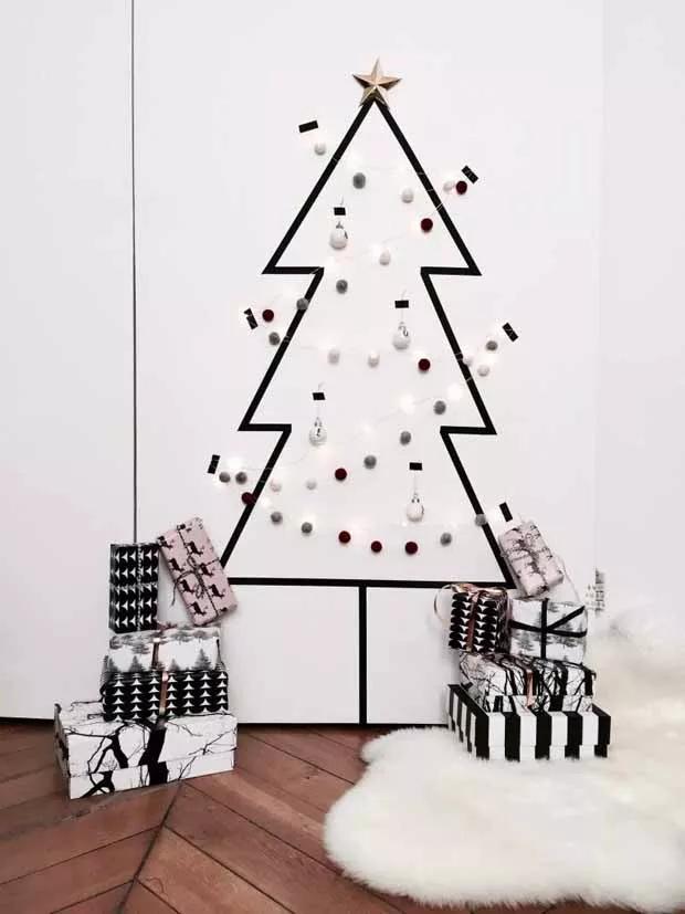 ideias de árvores de natal