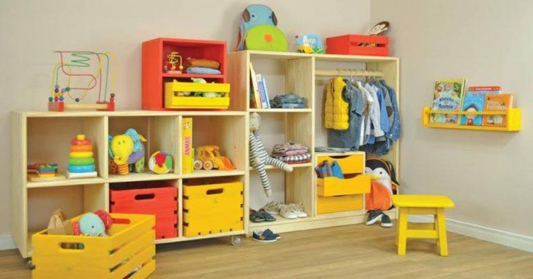 (Inspiração Montessori) 6 dicas para organizar o espaço das crianças