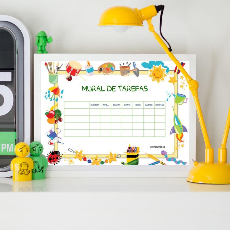 modelos de mural de tarefas para download