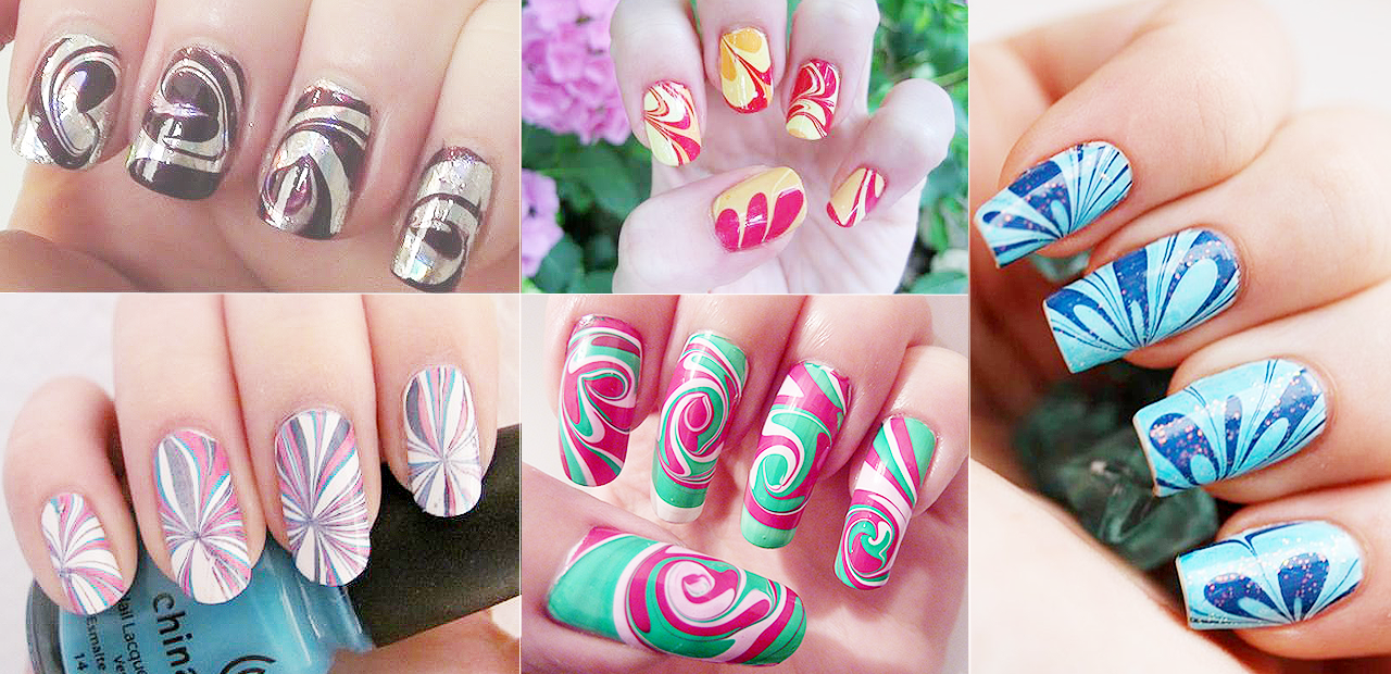 unhas-decoradas-unhas-marmorizadas