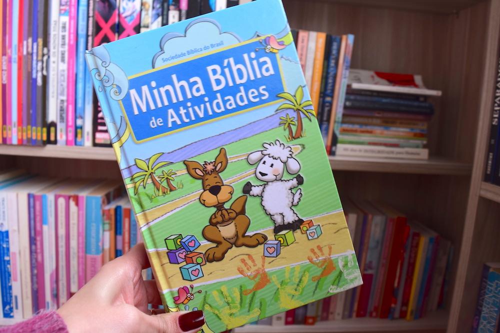 bíblia infantil de atividades
