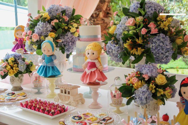 Festa Infantil Temática: Como fazer uma festa princesa da Disney?
