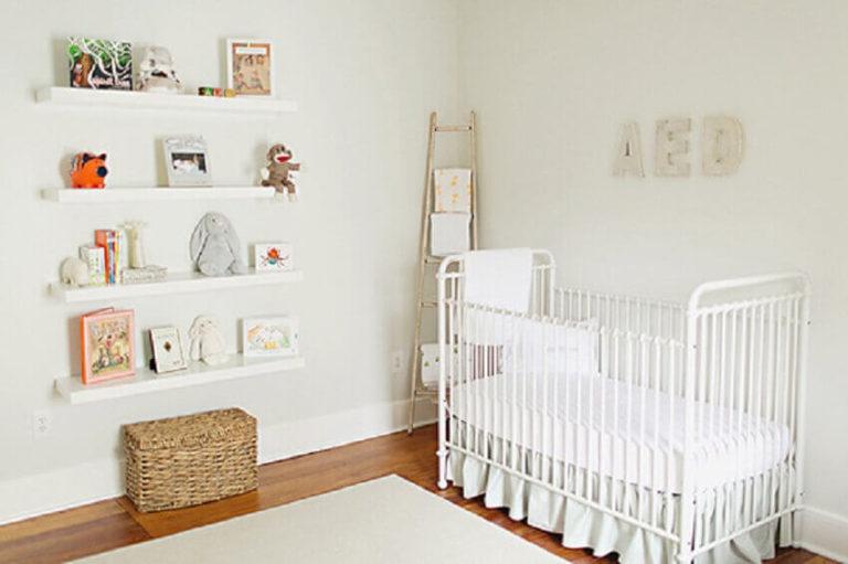 Como montar um quarto de bebê simples?