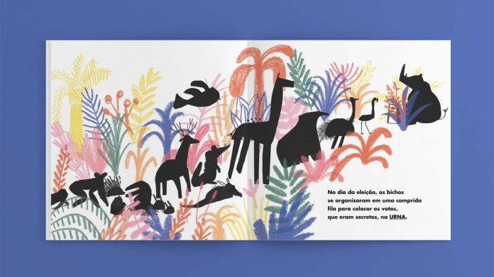 dica de livro infantil A eleição dos bichos