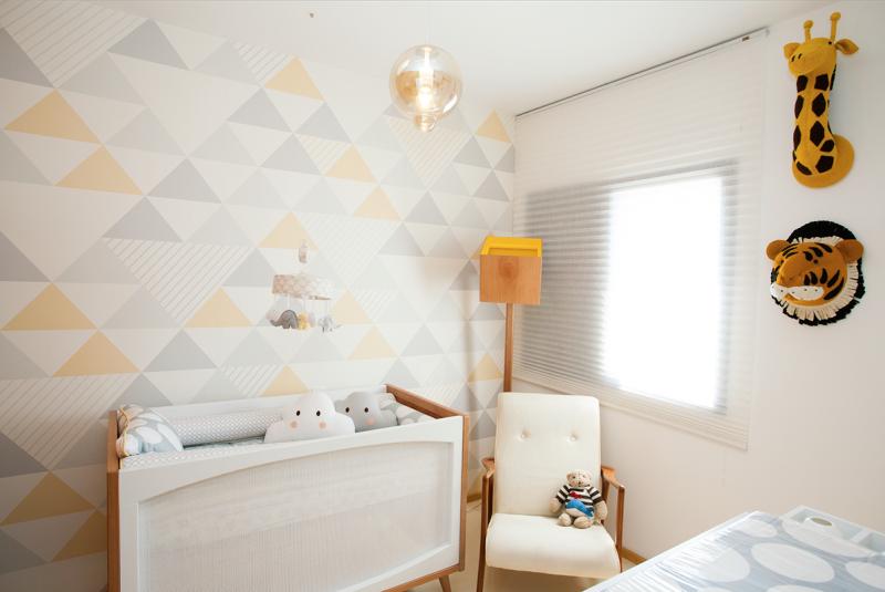 dica de papel de parede para quarto de bebê