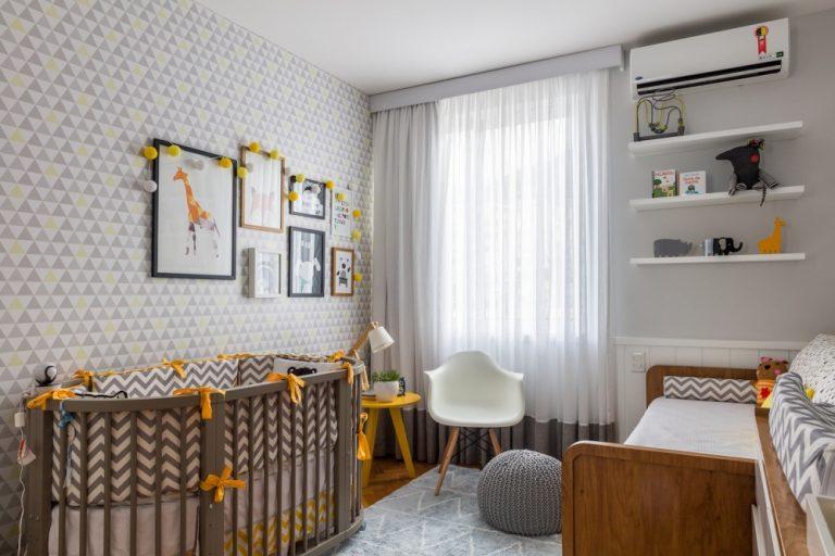 5 dicas para escolher o papel de parede para o quarto do seu bebê