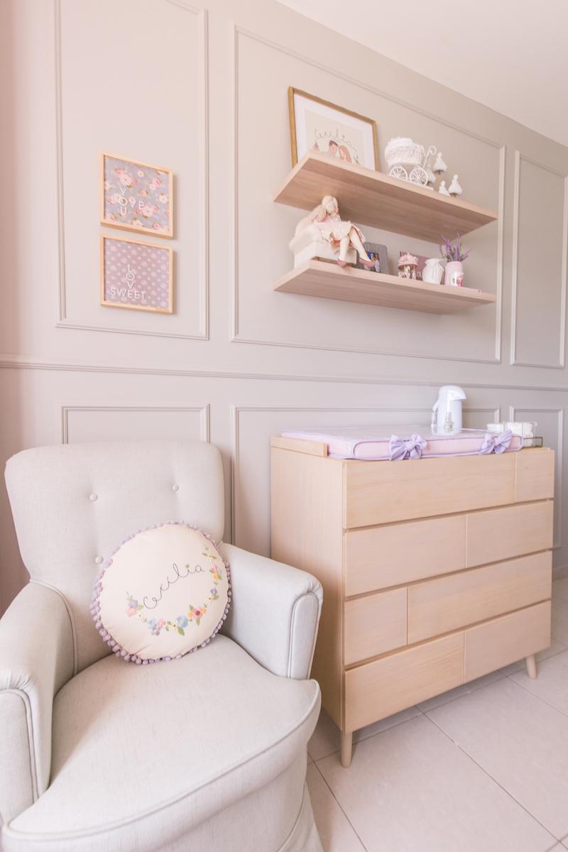 quarto de bebê feminino