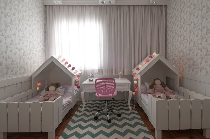 quarto infantil compartilhado