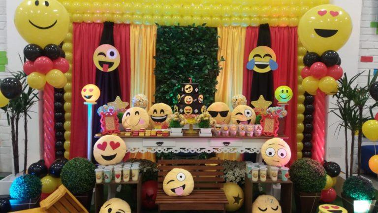 Festa infantil emoji: como fazer?