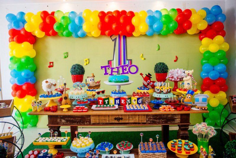 festa infantil 3 palavrinhas