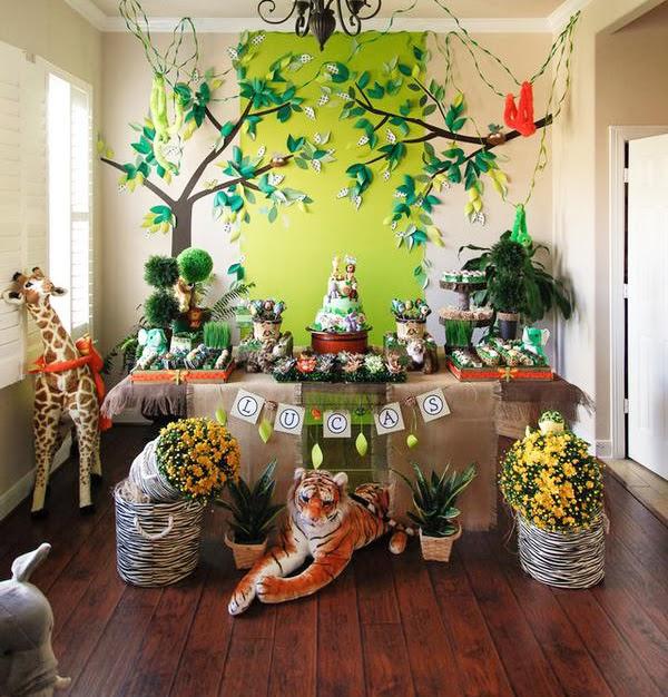 Festa infantil evangélica: Natureza